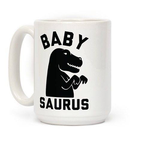 Baby Saurus Girl Coffee Mug