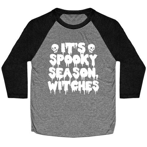 It's Spooky Season, Witches Baseball Tee