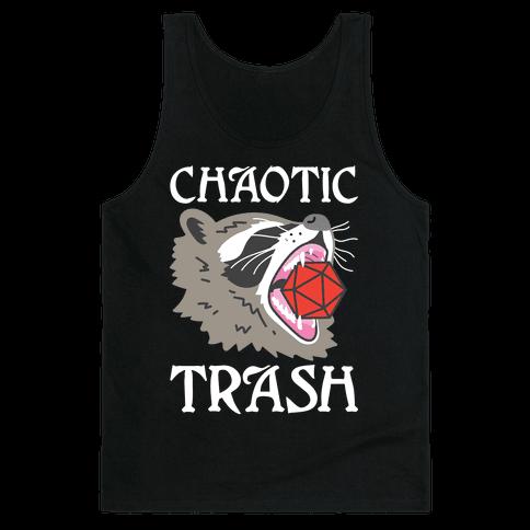 Chaotic Trash (Raccoon) Tank Top