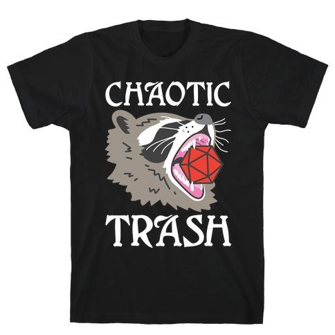 Chaotic Trash (Raccoon) T-Shirt