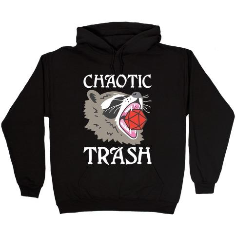 Chaotic Trash (Raccoon) Hooded Sweatshirt