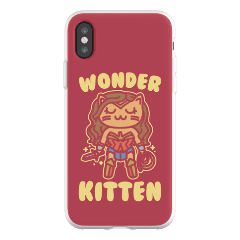 Wonder Kitten Parody Phone Flexi-Case