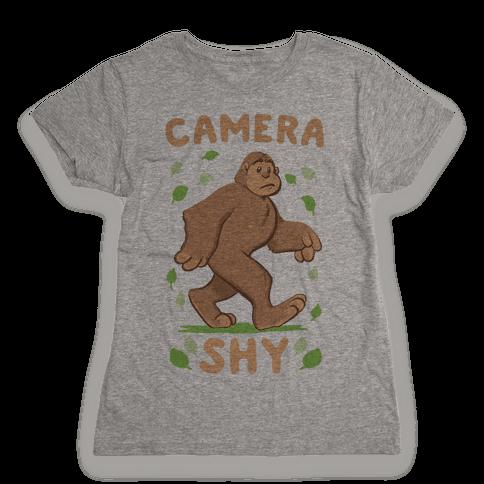 Camera Shy Womens T-Shirt