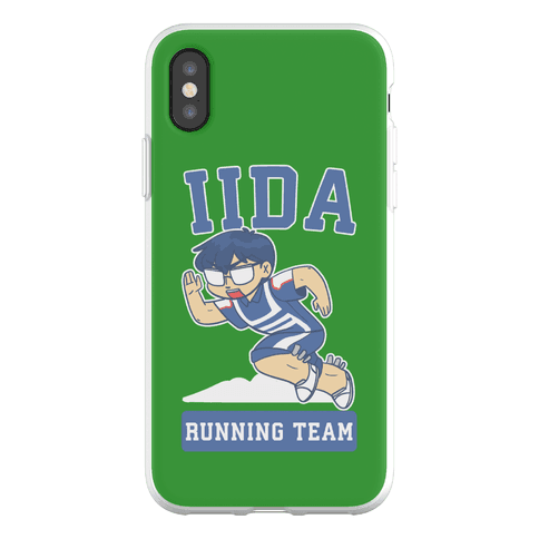 Tenya Iida Running Team Phone Flexi-Case