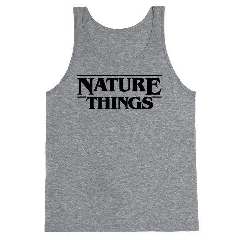 Nature Things Parody Tank Top