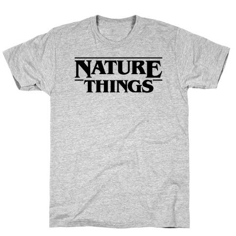 Nature Things Parody T-Shirt