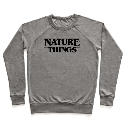 Nature Things Parody Pullover