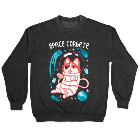 Space Corgete Pullover