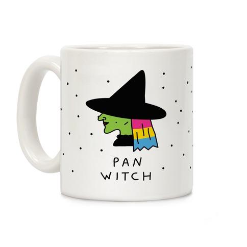 Pan Witch Coffee Mug