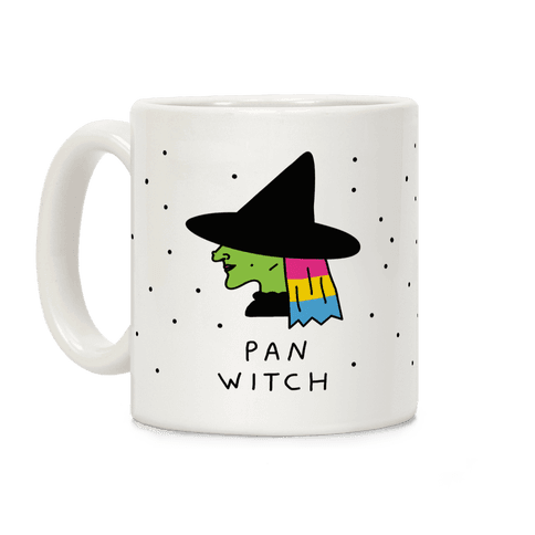 Pan Witch Coffee Mug