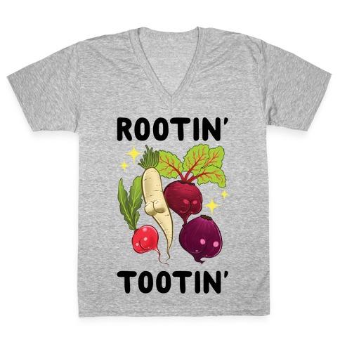 Rootin' Tootin' V-Neck Tee Shirt