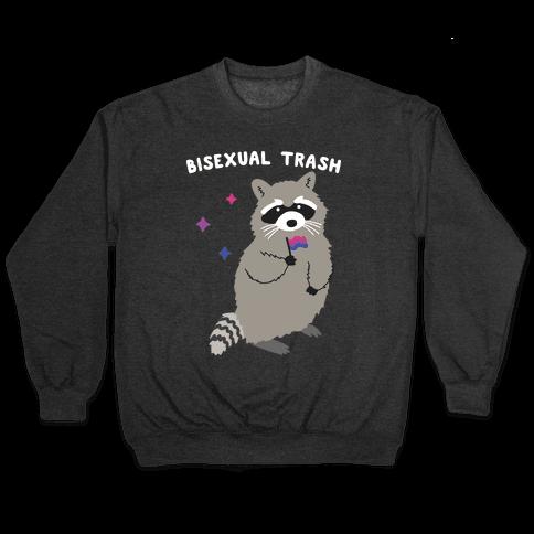 Bisexual Trash Raccoon Pullover