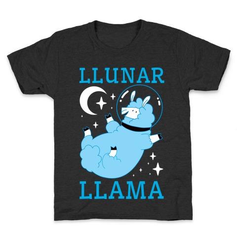 Llunar Llama Kids T-Shirt