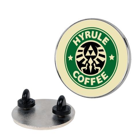 Hyrule Coffee Pin