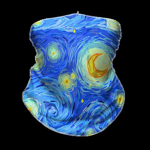 Starry Night Neck Gaiter