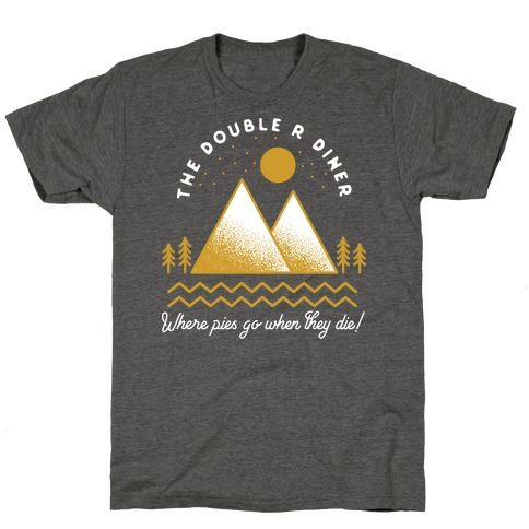 The Double R Diner Gold T-Shirt