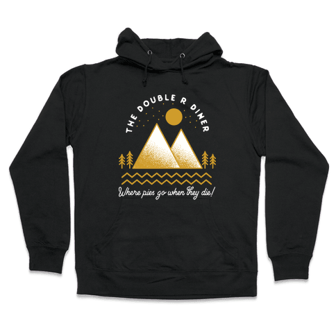 The Double R Diner Gold Hooded Sweatshirt