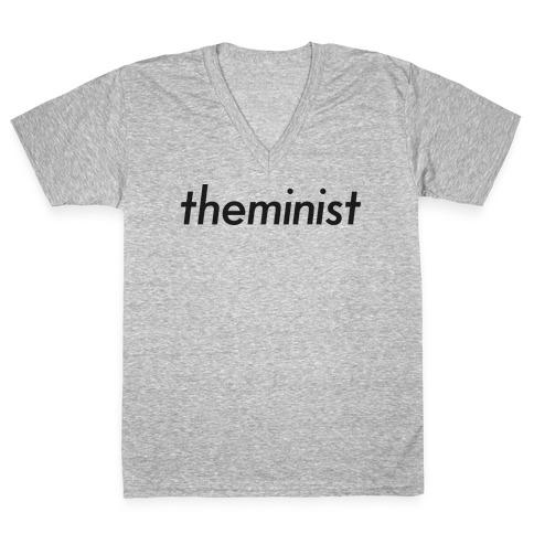 Theminist V-Neck Tee Shirt