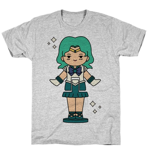 Sailor Neptune Pocket Parody T-Shirt