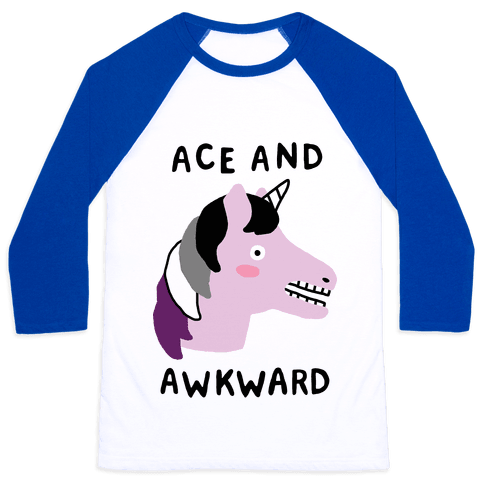 Ace And Awkward Baseball Tee