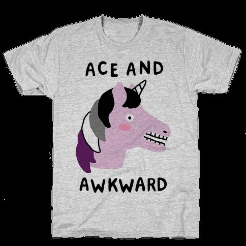 Ace And Awkward Mens T-Shirt
