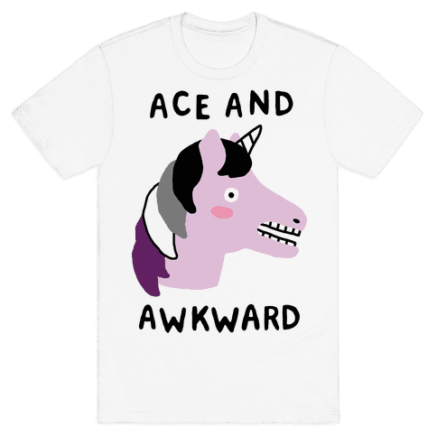 Ace And Awkward Mens T-Shirt