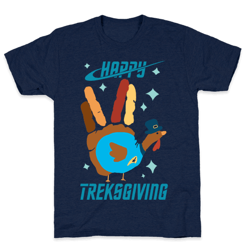 Happy Treksgiving Mens T-Shirt
