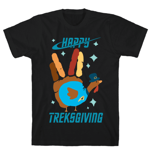 Happy Treksgiving Mens T-Shirt