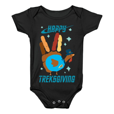 Happy Treksgiving Baby Onesy