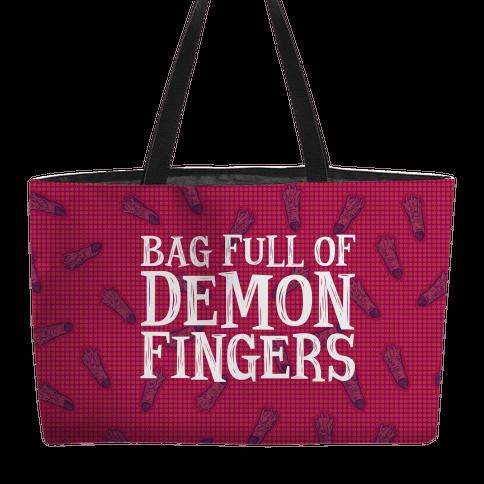 Bag Full of Demon Fingers Weekender Tote
