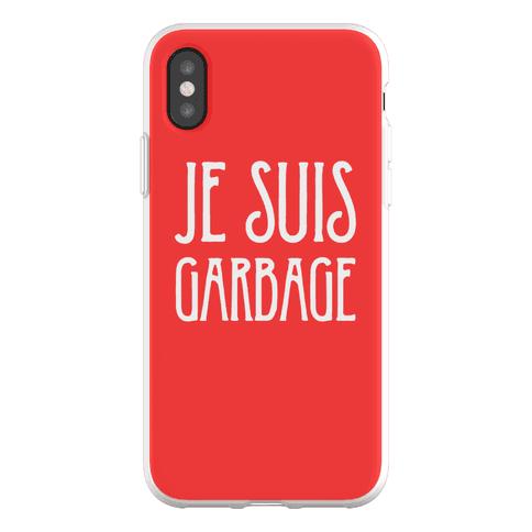Je Suis Garbage Phone Flexi-Case
