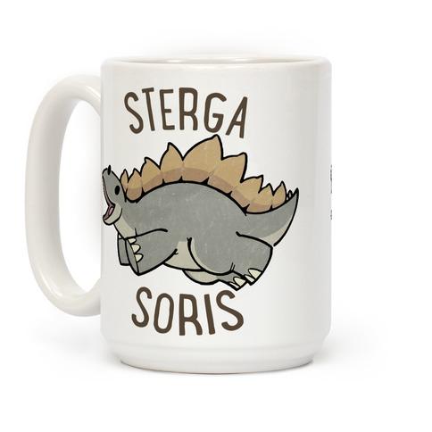 Derpy Stegosaurus Animal Coffee Mug