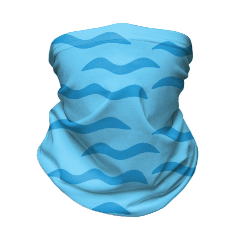 Calm Waves Neck Gaiter