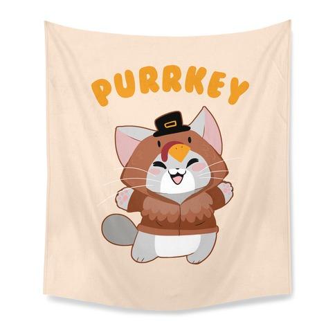 Purrkey Tapestry
