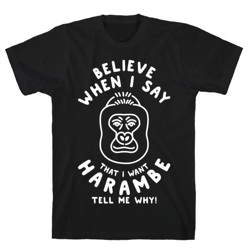 Harambe Meme Parody T-Shirt