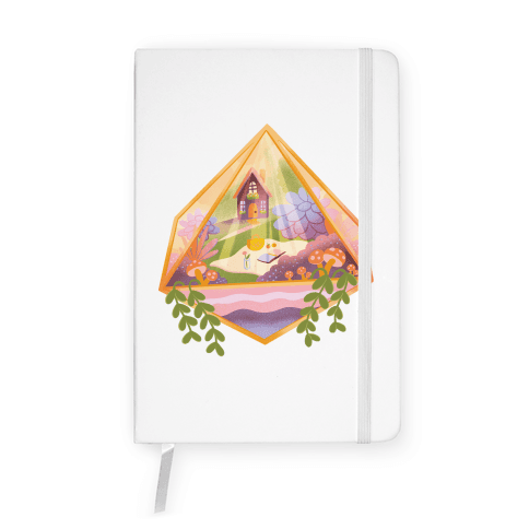 Cottagecore Terrarium Notebook