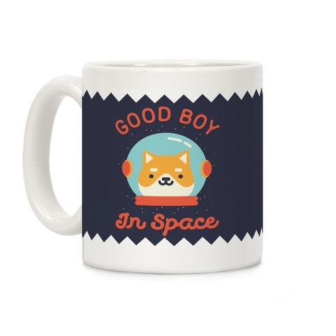 Good Boy In Space Coffee Mug