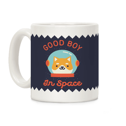 Good Boy In Space Coffee Mug