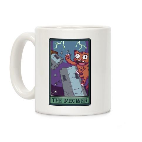 The Meower Tarot Card Coffee Mug