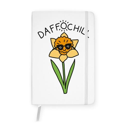 Daffochill Daffodil Notebook