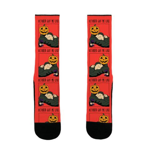 October Got Me Like Sock