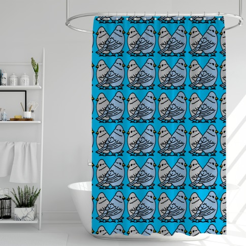 The Birds Work For The Bourgeoisie Shower Curtain