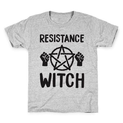 Resistance Witch Kids T-Shirt