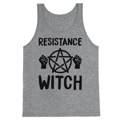 Resistance Witch Tank Top