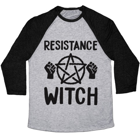 Resistance Witch Baseball Tee