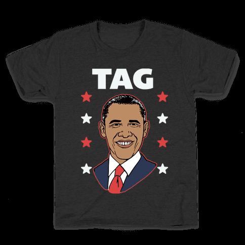 Tag Team Barack & Michelle Obama 1 Kids T-Shirt