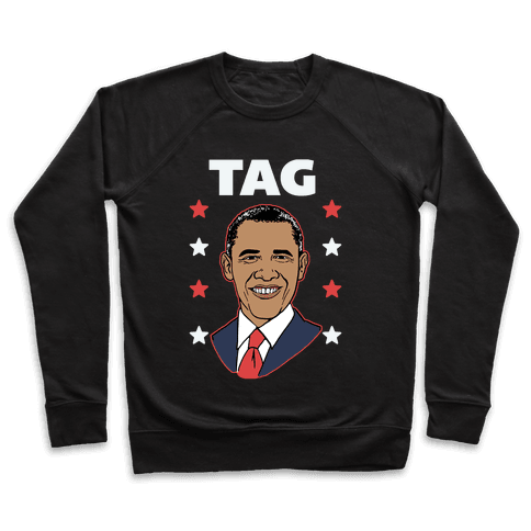 Tag Team Barack & Michelle Obama 1 Pullover