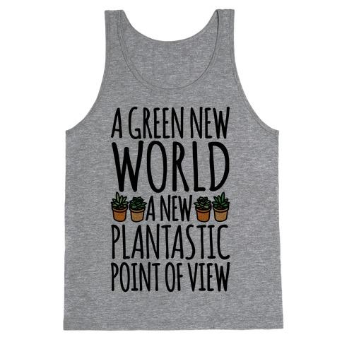 A Green New World Parody Tank Top