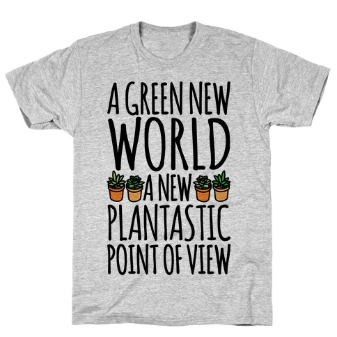 A Green New World Parody T-Shirt