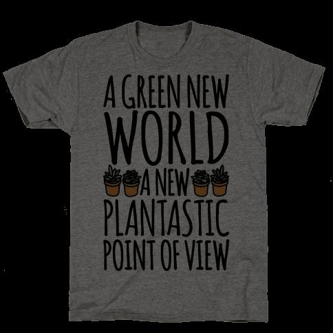 A Green New World Parody Mens T-Shirt